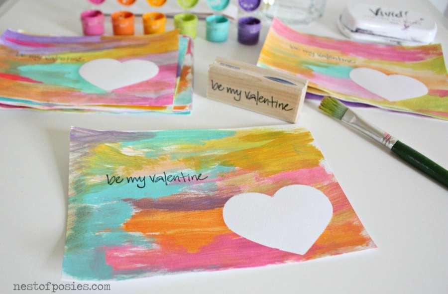 Regalos de San Valentín: manualidades infantiles