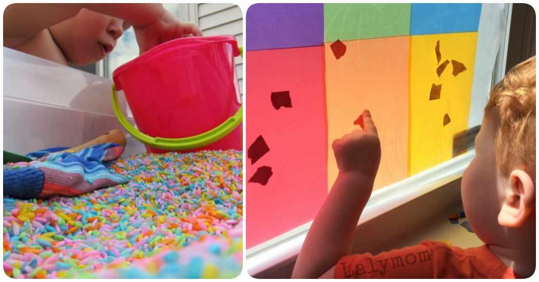 Cómo hacer juegos para niños de dos años en casa