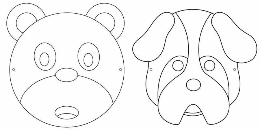 Máscaras infantiles gratis
