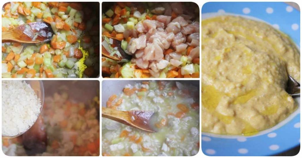 Recetas paso a paso: arroz con pollo