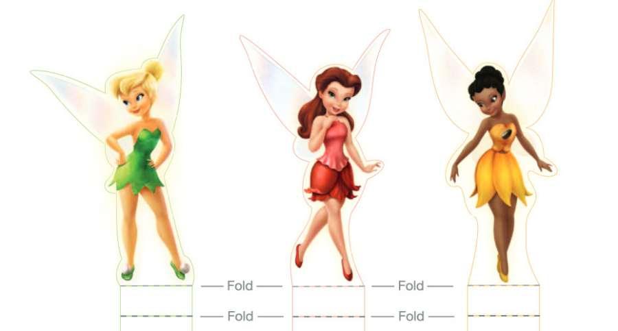 Princesas Disney: imprime el set de Campanilla