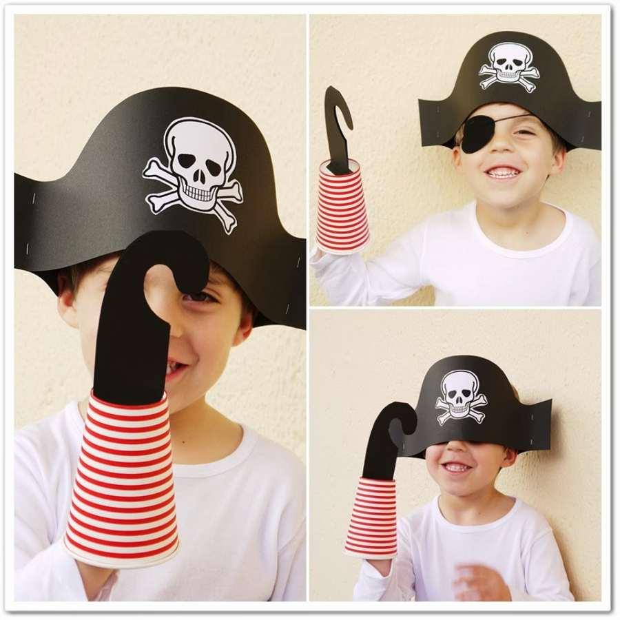 Disfraz de pirata: sombrero pirata paso a paso