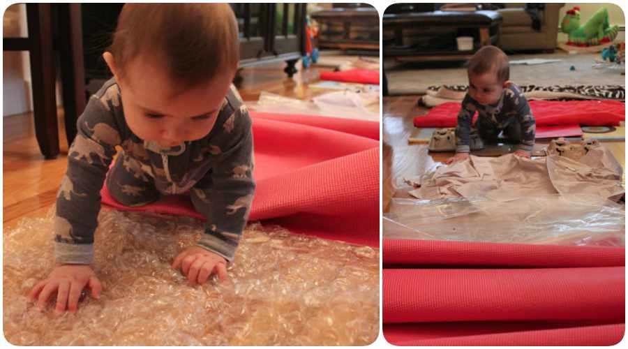 Actividades para bebés en casa