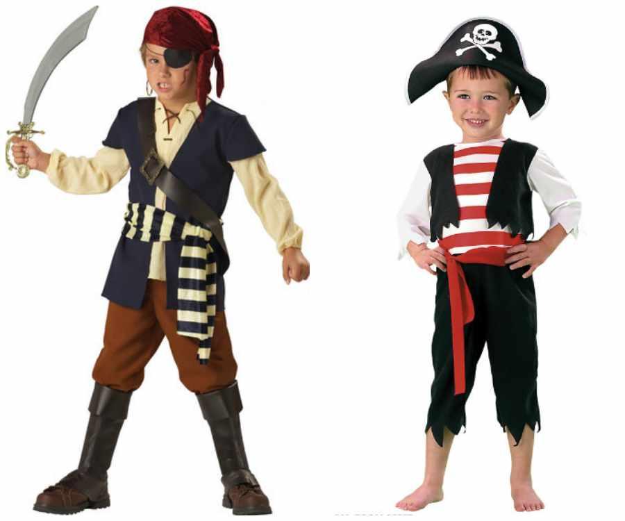 Disfraz de pirata infantil paso a paso
