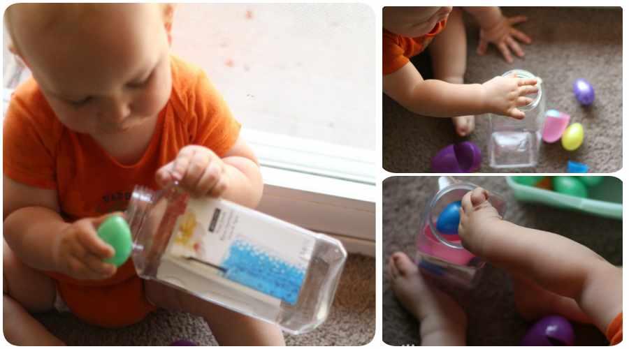 Juegos de bebés hechos en casa