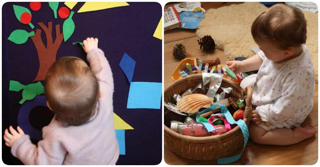 Juegos de bebés para hacer en casa