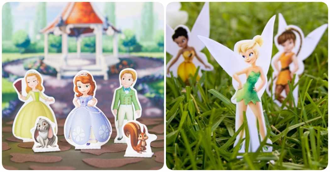 Princesas DIsney: sets de recortables para imprimir gratis