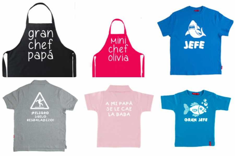 Regalos para papá: camisetas a juego papá-hijo