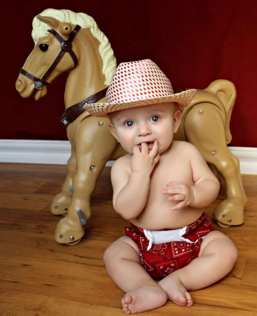 Desarrollo físico del bebé 6 meses