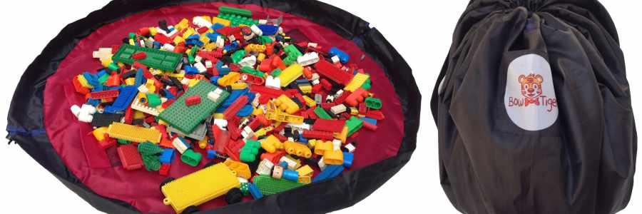 Inventos para peques: alfombra de juego y almacenamiento