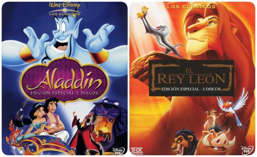 Listado de mejores películas Disney