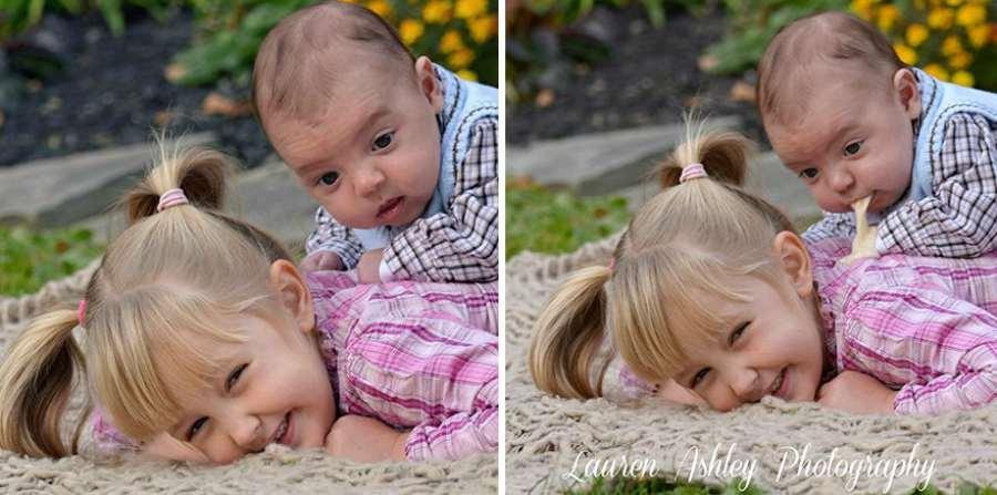 Fotos graciosas de bebés