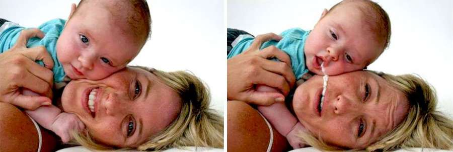 Imágenes chistosas: fotos divertidas de bebés