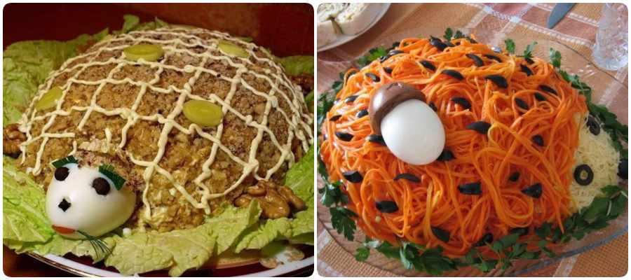 Recetas de ensaladas con forma de animales