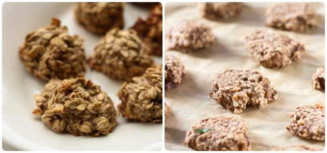 Receta sana de galletas fáciles de 2 ingredientes