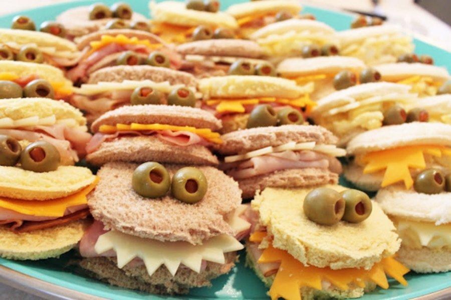 Cómo hacer un sándwich monstruo