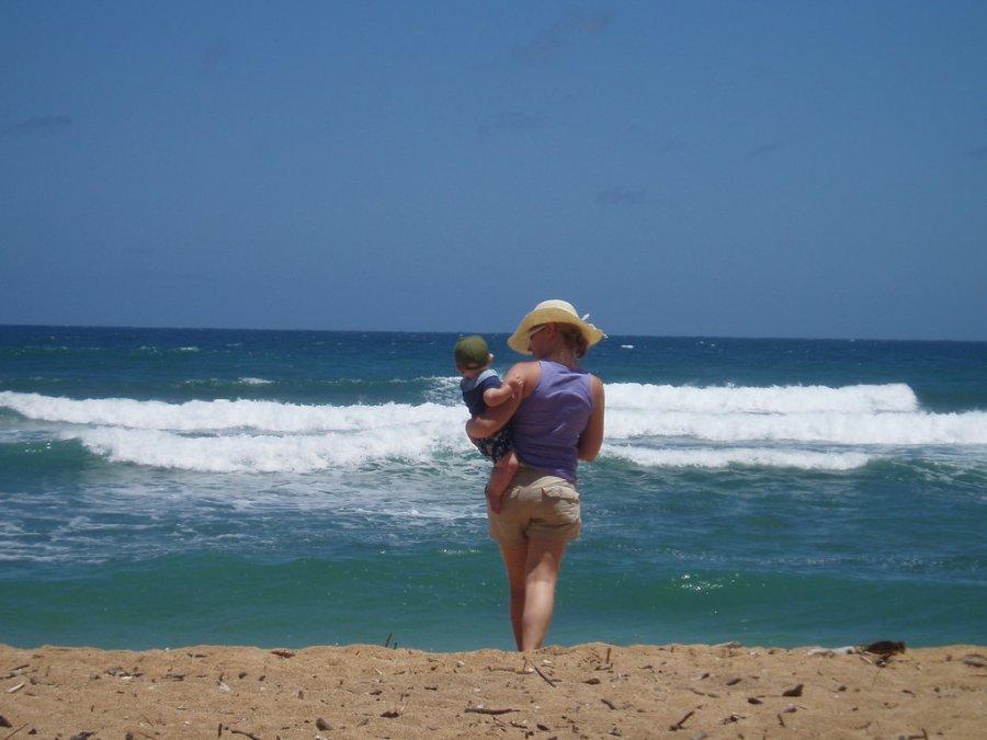 Consejos para ir a la playa con bebés
