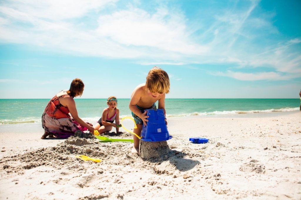 A la playa con bebés
