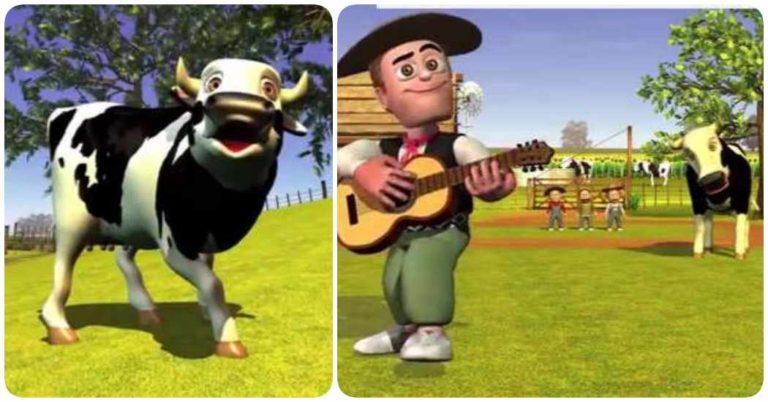 Letra y vídeo de La vaca Lola