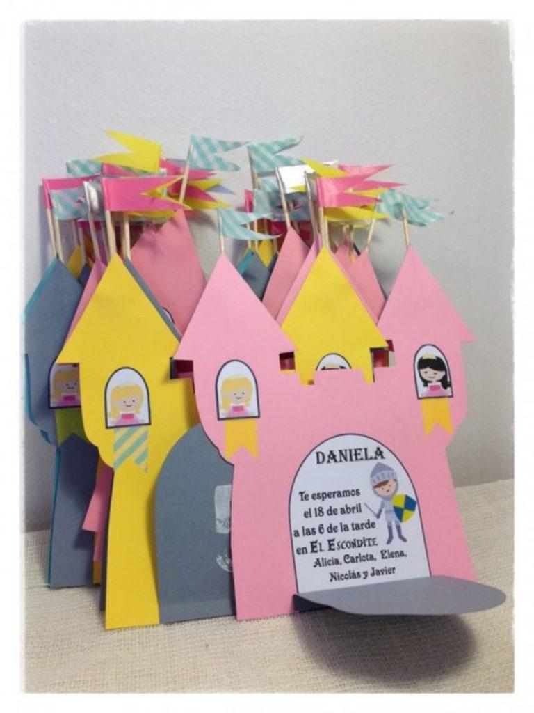 Postales para fiestas infantiles caseras