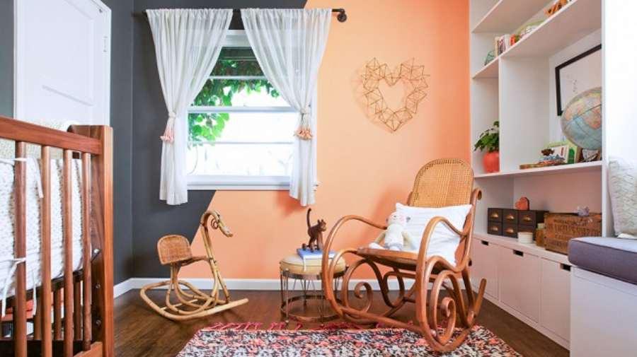 Decoración de la habitación del bebé en colores