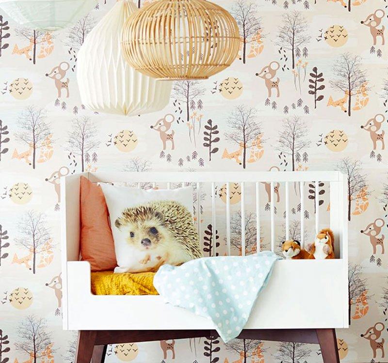 Papeles pintados para habitaciones de bebé